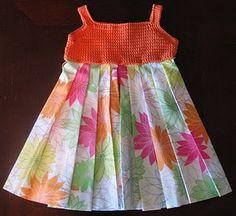 Crochet Bodice Dress - np
