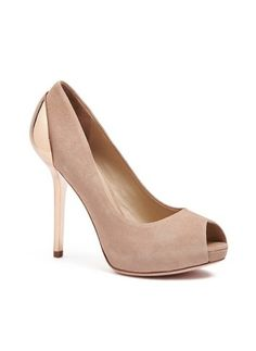 17539218d6b0 Sulia Peep-Toe Pump at Guess Guess By Marciano