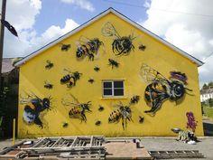 Street artist Louis Masai Michel