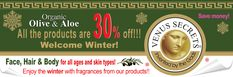 All the products are 30% off!!! www.venussecrets.us