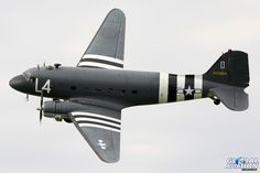 Aces High's Douglas C-47 Skytrain © Karl Drage - Global Aviation Resource