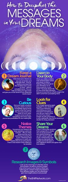 Have you ever deciphered your dreams or wished you could go back through the doorway of a dream to gain more insights? Gain 7 Secrets for Deciphering the Messages Your Dreams Want You to Know and discover new insights into yourself by unlocking the answers to what you ponder by day. It's as easy as keeping a dream journal, noticing themes, researching images and symbols, and more. http://blog.theshiftnetwork.com/blog/discover-how-use-your-nighttime-dreams-heal-transform?utm_source