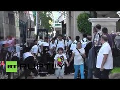 USA: Alonso, Bale and Co greet fans as Real Madrid arrive in Beverly Hills