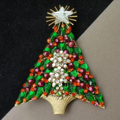 Christmas Tree Pin, Stanley Hagler