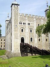 The White Tower, within the Tower of London, was built in the 11th century.  It has been a Royal Palace, fortress, prison, place of execution, arsenal, Royal Mint, Royal Zoo and jewel house.  Not including its projecting towers, it measures 118 feet by 105 feet at the base and is 90 feet high at the southern battlements.