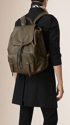 Shop men's bags from Burberry, a runway-inspired collection featuring briefcases and backpacks, as well as crossbody and tote bags for men. Trendy Backpacks, Leather Backpacks, Leather Bags, Fashion Bags, Fashion Backpack, Mens Fashion, Backpack Bags, Handbags For Men, How To Make Handbags