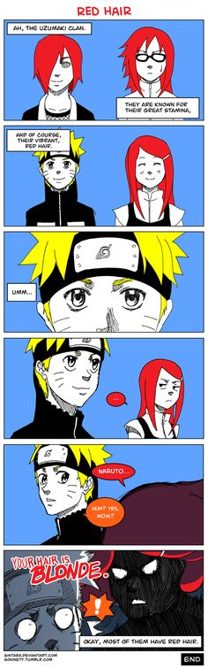 Kushina! Why are you blaming Naruto?!? You're the one at fault for marrying Minato!