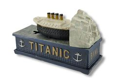 titanic cast iron mechanical banks - Google Search