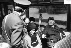 The late king Olaf taking the metro to go skiing during the 1973 oil crisis