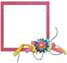Scrapbooking TammyTags -- TT - Designer - Fran B Designs, TT - Item - Frame, TT - Style - Cluster