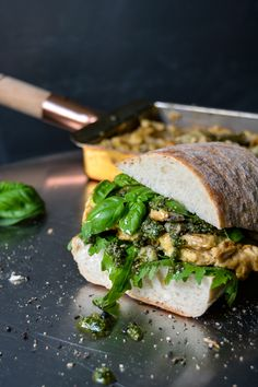 The inspiration for this sandwich comes from a ladywho has been reading through almost all of myeat in my kitchen recipes in the past few weeks. She truly impressed me, not only becauseshe soake…