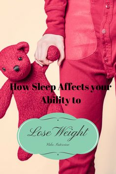 Short video interview conducted by Elly McGuinness about how sleep affects your ability to lose weight
