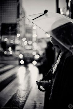 Tokyo In The Rain | Waiting to Cross