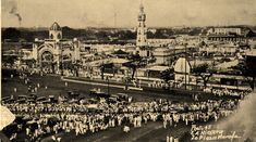 1926 Manila Carnival - Plaza Moriaga (ctto) Philippines Culture, Pinoy, Vintage Pictures, Manila, Paris Skyline, Carnival, Old Things, Drawer, Street