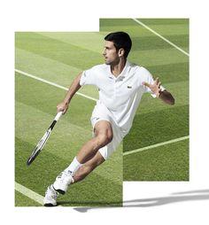 Tenista sérvio Novak Djokovic é novo embaixador (dentro e fora das quadras) da marca francesa Lacoste. Na campanha ele é comparado ao fundador René Lacoste.