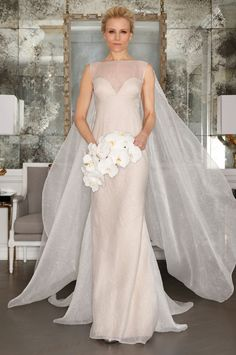 Romona Keveza Spring Bridal 2017 | #BridalFashionWeek #WeddingDress [Photo: Courtesy]