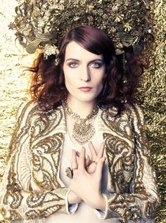 Florence Welch by Tesh for Marie Claire June 2012