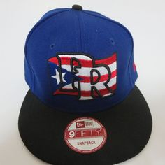 New Era 9fifty Puerto Rico Flag MLB Baseball Team 950 Hat Cap Snapback Blue  NEW   dad6e8382ae