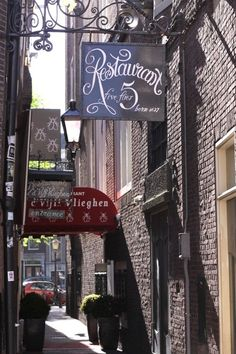 Beautiful type in Amsterdam!