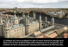 Paris à la fin du Moyen âge... par @GrezProductions Le Louvre