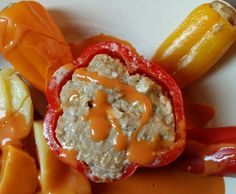 Gefüllte Paprika von Leckermäulchen30 auf www.rezeptwelt.de, der Thermomix ® Community