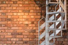 Riflemaker: Authentic loft conversion in an original industrial gunsmiths Loft Apartments, Reuse Recycle, City Living, Birmingham, Repurposed, Gun, Industrial, Outdoor Structures, Flooring