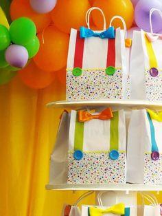 bolsa regalo de payaso - Buscar con Google