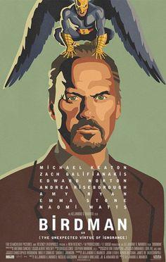 Locandina del film Birdman (o l'imprevedibile virtù dell'ignoranza) ჱܓ ჱ ᴀ ρᴇᴀcᴇғυʟ ρᴀʀᴀᴅısᴇ ჱܓ ჱ ✿⊱╮♡❊**Have a Good Day**❊ ~ ❤✿❤ ♫ ♥ X ღɱɧღ ❤ ~ Mon 12th Jan 2015