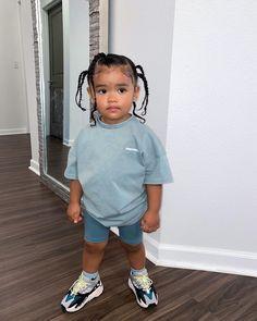 Cute Kids Fashion, Baby Girl Fashion, Fashion Children, Cute Little Girls Outfits, Toddler Outfits, Baby Outfits, Cute Mixed Babies, Cute Babies, Black Baby Girls