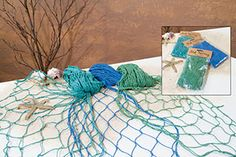 39791 - Coastal Colors Fishnet