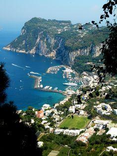 Marina Grande, Capri .....from above
