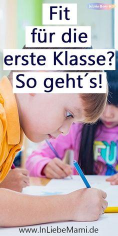 1. Klasse. Ist dein Kind Fit für die Einschulung. Der Schulanfang kann ganz schön überwältigend sein. So machst du dein Kind fit für die Grundschule. Alles was du für die erste Klasse Mathe, Deutsch etc. wissen musst. Darauf kommt es bei der Einschulung wirklich an. Fördere dein Kindergarten- bzw. Vorschule- Kind. Families, Kindergarten, Blog, Learning Numbers, Learning To Write, Knowledge, Learning Letters, My Family, Kindergartens