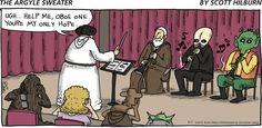"Help me, Oboe One...     - ""The Argyle Sweater"" by Scott Hilburn;  5/17/15"