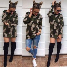 NOVINKA army sveter ale kto je odvážnejší môže využiť aj ako sveter  veľ.UNI top kvalita  2490 IHNEĎ K ODBERU #newcollection#tvojstylfashion#fashionblogger#moda#dnesnosim#dnesobliekam#lovemoda