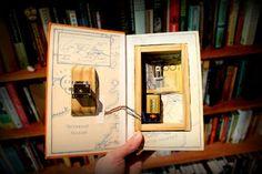 Book Safe With Hidden Magnet Lock : 9 Steps (with Pictures) - Instructables Escape Room Design, Escape Room Diy, Escape Puzzle, Escape Room Puzzles, Hidden Compartments, Secret Compartment, Secret Storage, Hidden Storage, Escape Box