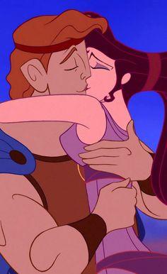 Hercules and Meg (Hercules) (c) 1997 Walt Disney Animation Studios Meg Hercules, Hercules Disney, Tarzan Disney, Walt Disney, Disney Couples, Disney Love, Disney Art, Disney Pixar, Disney Characters