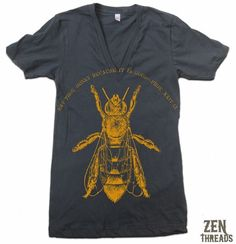 Bee zen threads  http://www.etsy.com/listing/59259211/unisex-whales-t-shirt-american-apparel?ref=related-4