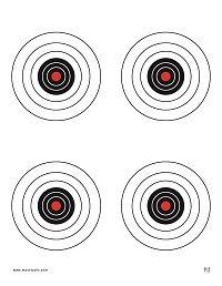Rifle Printable Targets http://www.airgunclub.org