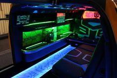 Chevrolet Camaro Transformers Special Edition SS Limo Interior  www.fhdailey.com