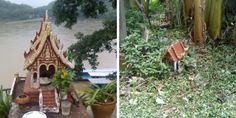 [DECOllectif] Les bonnes idées pour vivre dehors / maisons des esprits au Laos
