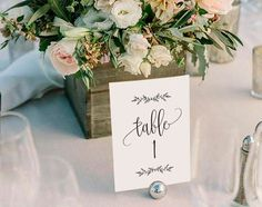 Wedding Table Numbers Printable Table Numbers Rustic Table by BlissPaperBoutique Diy Wedding, Wedding Reception, Rustic Wedding, Wedding Flowers, Wedding Day, Trendy Wedding, Wedding Shot, Table Wedding, Card Wedding