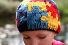 The Pattern for the Autism Hat