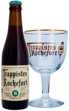 Rochefort Beer 8%, Abbey Notre-Dame of Saint-Remy (Rochefort), Wallonia, Belgium