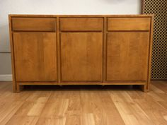 American Mid Century Modern Credenza By Russel Wright For Conant Ball