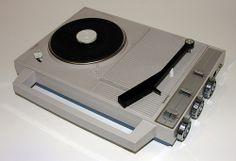 Diasonic record player & radio. #turntable #recordplayer http://www.pinterest.com/TheHitman14/the-record-player-%2B/