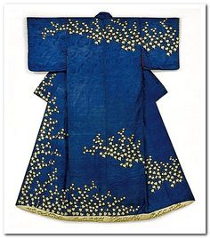 Kosode (proto-kimono), late 18th to early 19th century, Japan.