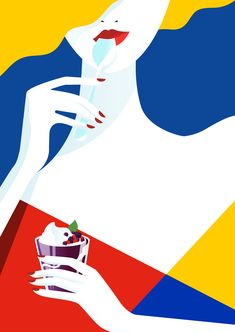 <p>Few years ago we introduced the illustration work of Finnish artist Pietari Posti. Since then, his style changed a bit by simplifying his drawings down to clean lines and crisp, bold shapes. Love h