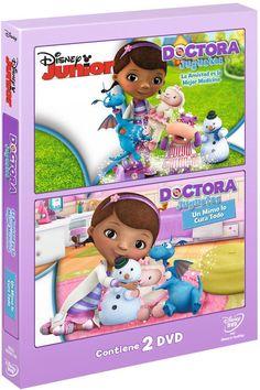 Octubre 2014 -- Doctora Juguetes és una nena de sis anys que es comunica amb els peluixos i les joguines i els cura a la seua particular clínica, una caseta de joguina situada al seu jardí. Cada episodi té dues històries diferents i una cançó original que mostren dos dels valors característics de Disney: la fantasia i l'afany de superació.