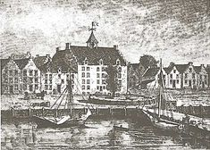 Old City Hall, New Amsterdam, 1660