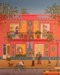 Naïve Love: How to Celebrate Valentine's Day through Oil Paintings   Naive Art Online